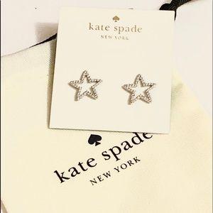 Kate spade star stud earrings